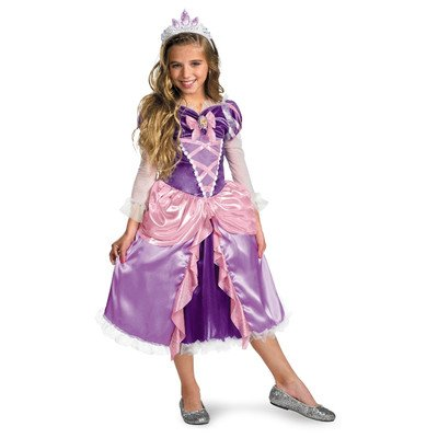 "Princess ""Tangled"" Rapunzel Shimmer Deluxe Costume"