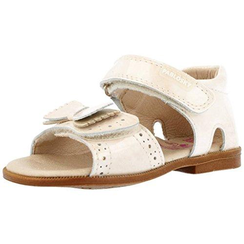 Sandali e infradito per ragazza, color Bianco sporco , marca PABLOSKY, modelo Sandali E Infradito Per Ragazza PABLOSKY CAPRI II Bianco Sporco