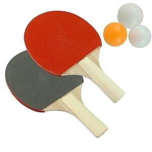 Table Tennis Ping Pong Set - Bats And Balls Set