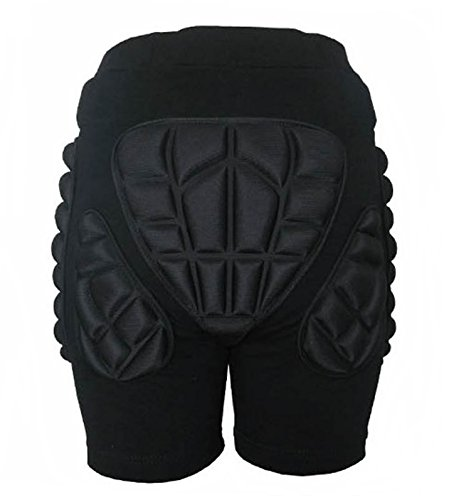 Hip protector ass pad pants [ADVANTAGE] snowboard skateboard bike etc in (1, XXS)