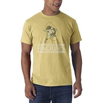 Green Bay Packers - Flanker Premium Mens T-Shirt Yellow by