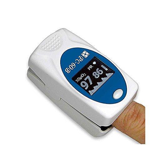 1x-Fingerpulsoximeter-PC-60B-PRO-Pulsoximeter-Pulsoxymeter-Oxymeter-BPM-SpO2