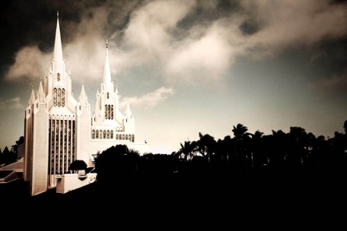 San Diego LDS Temple - Photographic Print