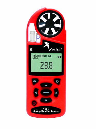 Kestrel 4250 Racing Weather & Environmental Meter With Data Logging With Blue Tooth