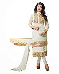 TFW Salwar Kameez Semi Stitched Georgette Dress Material