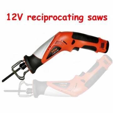 Tch 12V 1500Mah Lithium Reciprocating Saws Portable Electric Saw