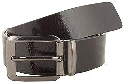 Jackblack Men's Leather Belt (SEVP003, Brown, 34)