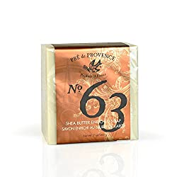 Pre de Provence Aromatic, Warm and Spicy, No. 63 Mens 200 Gram Cube Soap