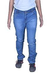 goofy Men's regular fit light blue jeans