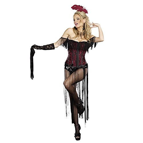 Womens 8775 Burlesque Beauty Cosplay Costumes