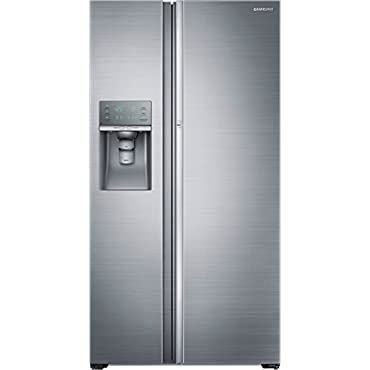 Samsung RH22H9010SR 36 Counter Depth Side-by-Side Refrigerator with 21.5 cu. ft. Capacity, Food ShowCase (Stainless Steel)