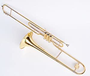 trombone pistons tenor dor sib avec etui rigide neuf. Black Bedroom Furniture Sets. Home Design Ideas