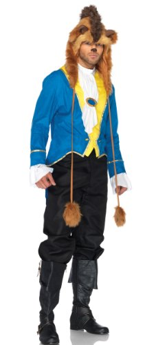 Leg Avenue Men's 3 Piece Beauty And The Beast Beast Costume