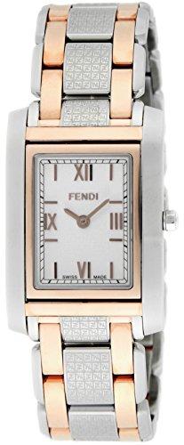 [フェンディ]FENDI 腕時計 zucca ホワイト文字盤 ステンレス(PGPVD)ケース F767340 メンズ 【並行輸入品】