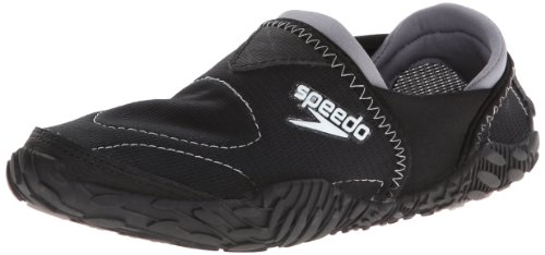 Speedo Women's Offshore Amphibious Pull-On Water Shoe,Black,8 M US