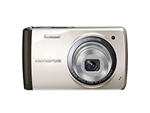 OLYMPUS Digital Camera STYLUS VH-410 (Silver) 14MPCCD 5x Optical Zoom Wide angle26mm 3.0-inch LCD VH-410 SLV (Japan Imported)
