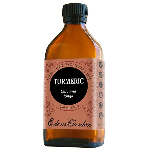 Turmeric 100% Pure Therapeutic Grade Essential Oil by Edens Garden- 250 ml