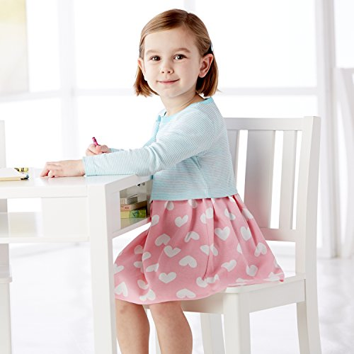 Gerber Toddler Girls Two-Piece Cardigan and Dress Set, Watermelon, 4T