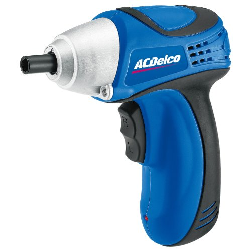 Acdelco Arv842 Li-Ion 8-Volt Screwdriver With Led Lighting, 100 In-Lbs