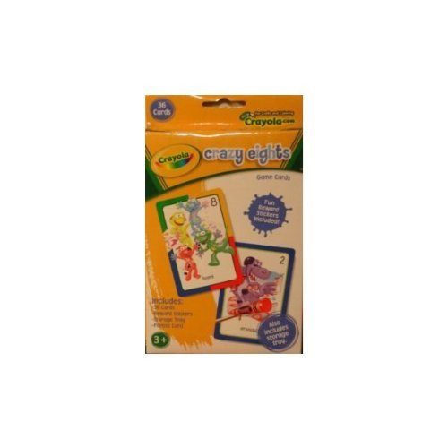 Crayola Crazy Eights Game Cards