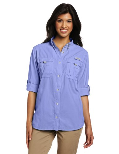 Columbia women 39 s pfg bahama ii long sleeve breathable for Baby fishing shirts columbia