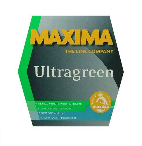 Maxima Fishing Line Mini Pack, Ultragreen 110-Yard
