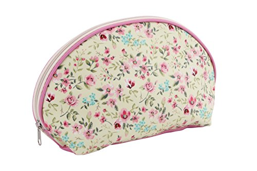 Pretty Ditsy Floral Borsa per il trucco & rose, colore: rosa