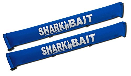sharkbaitsurfwax Set of Two 30 Inch Long Aero Roof Rack Pads ROYAL BLUE Fade Proof for Surfboard/SUP/Kayak (Roof Rack Pads White compare prices)
