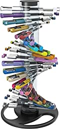 Write Dudes Gel Pens with Helix Pen Stand, 40 Count (DDW32)
