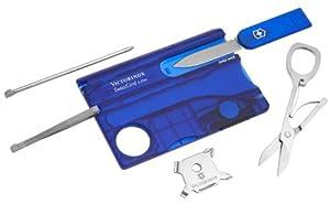 Victorinox Taschenmesser Swisscard Lite Saphir LED, 0.7322.T2