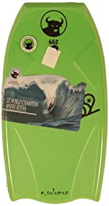 662 HD Eddie Solomon Graphic Bodyboard, Green, 42.5-Inch by 662