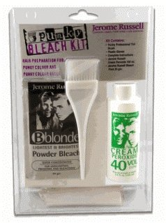 jerome russell Punky Bleach Kit 30 Volume, Clamshell, 3.4 Ounce