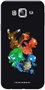 Fashionury Printed Back Case Cover For Samsung Galaxy E7 -Print29602