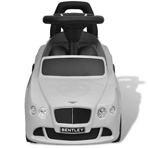 Bentley Pousse-pied Voiture enfant blanc
