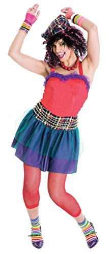 Papermagic Womens Retro She'S So 80'S Theme Party Fancy Halloween Costume