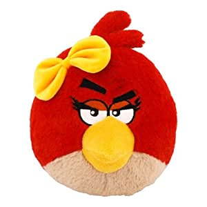 "Angry Birds 8"" Girl Plush - Red Bird"