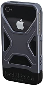 RokForm Fuzion Aluminum Apple iPhone 4 /4S Case (Gun Metal)