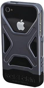RokForm Fuzion Aluminum Apple iPhone 4 /4S Case (Gun Metal)