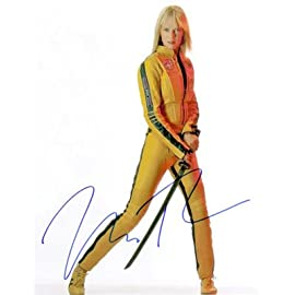 Uma Thurman Kill Bill Signed Autographed Reprint Photo 8x10 #1