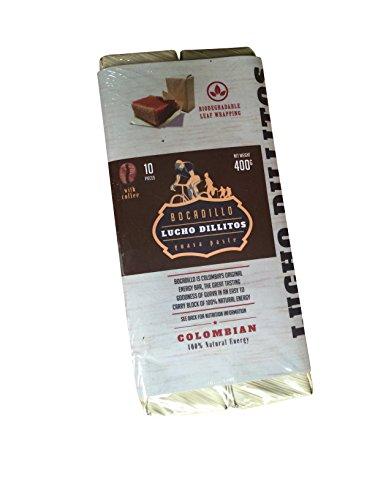 Lucho Dillitos Bocadillo's - Columbian Guava Energy Bar - Coffee - 10...