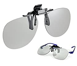 REAL 3D Clip-On Polarized 3D Glasses P-CON