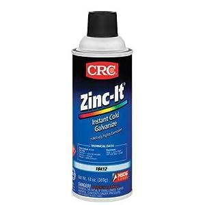 CRC Industries 18412 Zinc-It Instant Cold Galvanize Zinc Rich Galvanize Coating from CRC Industries, Inc