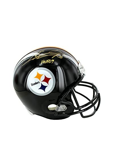 Steiner Sports Memorabilia Rod Woodson Pittsburgh Steelers Autographed Helmet Inscribed HOF 09