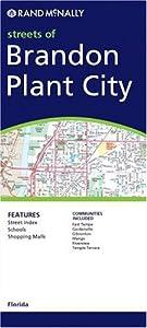 Brandon/Plant City/East Hillsborough County (Rand McNally Folded Map: Cities) by Rand McNally & Company