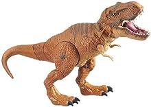 Gran Tyrannosaurus Rex (43cm de longitud) con movimiento y sonido Jurassic Park - TRex, T-Rex. Juguete electrónico (Hasbro B2875)