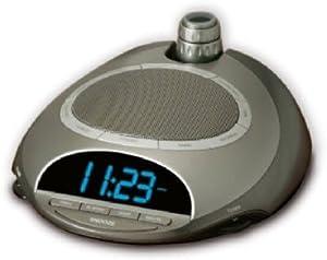 homedics nature sounds radio alarm clock time projector travel alarm clocks. Black Bedroom Furniture Sets. Home Design Ideas