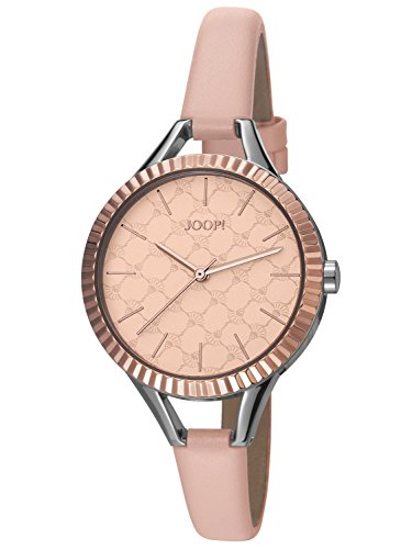 Joop! Time wear donna-Orologio da polso al quarzo in pelle JP101872001