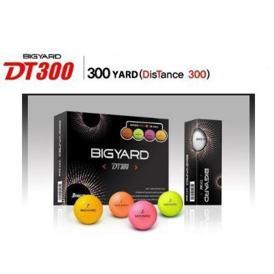 nexen-big-yard-dt-300-colored-432-dimple-design-golf-balls-1-dozen-by-nexen