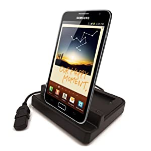 Modern-Tech Dual Twin Desktop Sync & Charge Dock Cradle for Samsung Galaxy Note GT-N7000