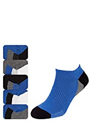5 Pairs of Cool & Fresh Cotton Rich Trainer Liner Socks